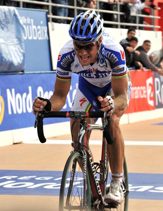 Tom Boonen Paris Roubaix velodrome 2009 Graham Watson