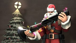 Festive Team Fortress