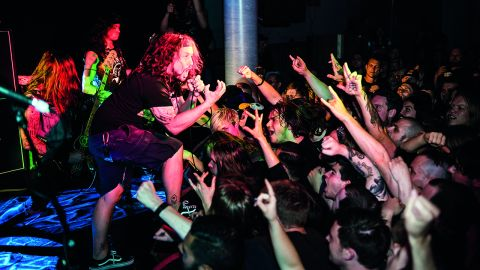 Municipal Waste live photo, London