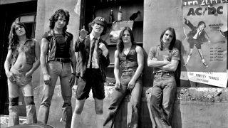 AC/DC in 1976
