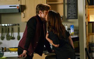 Coronation Street Carla and Daniel Kiss