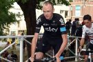 Chris Froome during the Team Presentation of the 2015 Tour de France (Watson)