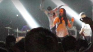 A screenshot from the fan-shot video