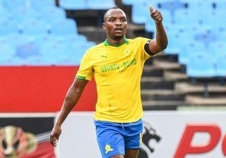 Mamelodi Sundowns forward Gift Motupa