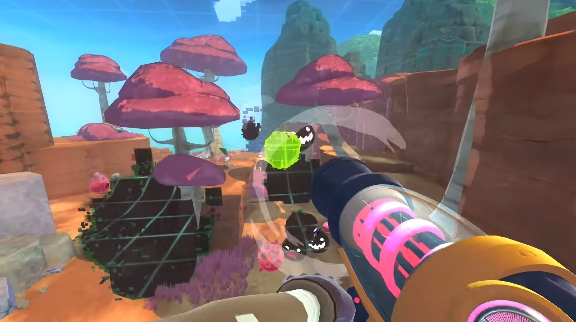 Slime Rancher's free update adds a digital world and virtual