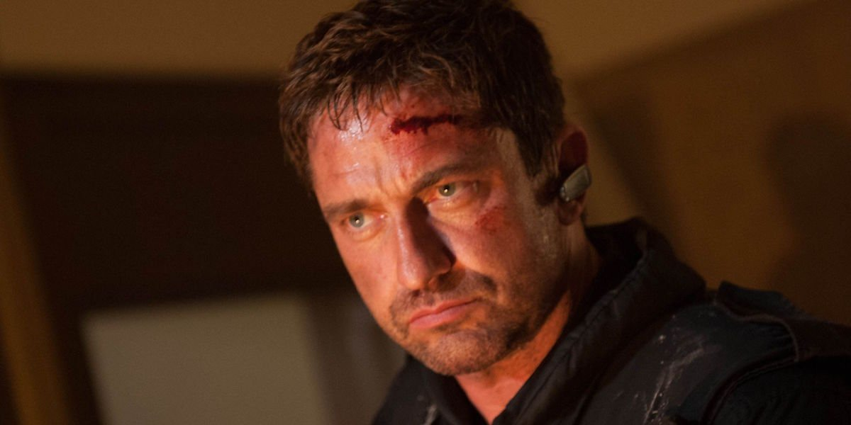 Gerard Butler as the Fallen series' Mike Banning
