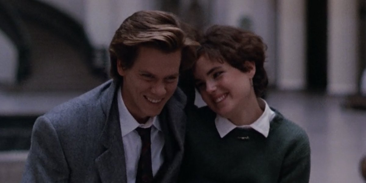 Kevin Bacon and Elizabeth McGovern in She's Having a Baby