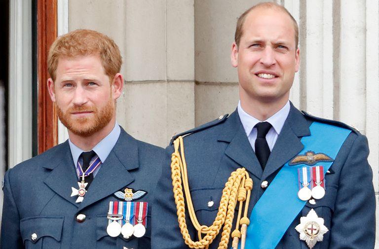 prince william prince harry reunite princess diana award letter
