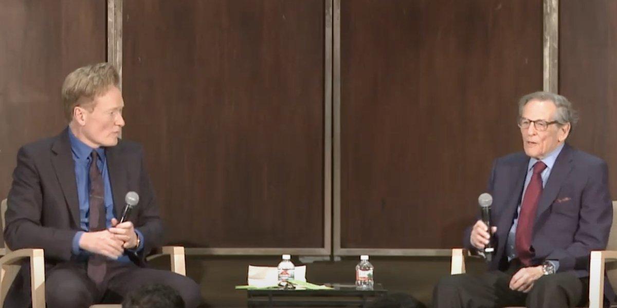 Conan O'Brien and Robert Caro on C-SPAN