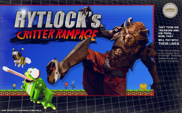 Guild Wars 2 Retro Platformer Rytlock's Critter Rampage Now Playable #26454