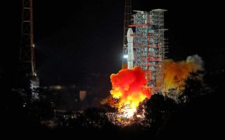 Chang'e 4 Launch 1