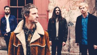 Damon Wilson, left, has left The Temperance Movement