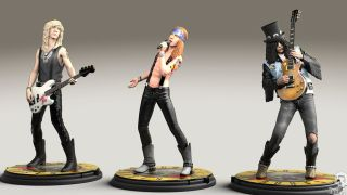 The GNR limited edition figures