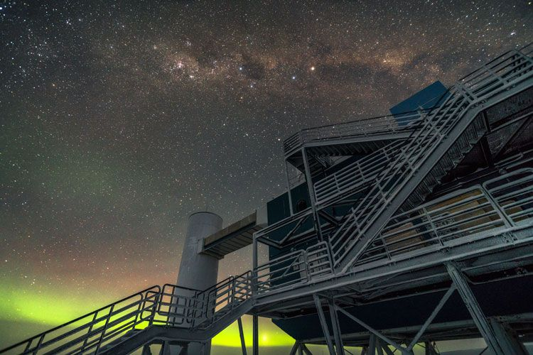 Monster antimatter particle slams into Antarctica