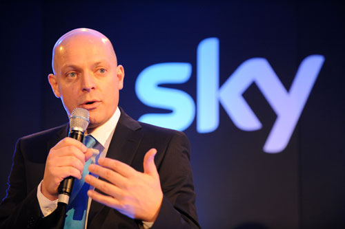 David Brailsford, Team Sky 2010 launch