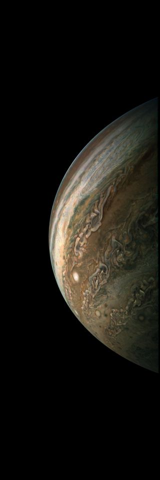 Juno Probe Completes 10th Science Flyby of Jupiter; Citizens Produce Amazing Images