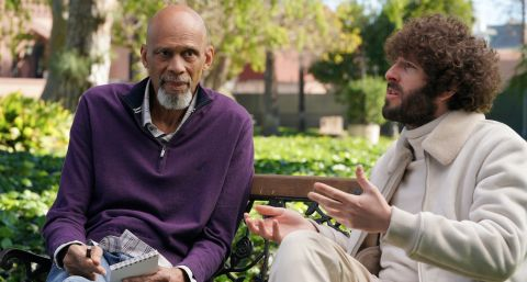 Lil Dicky (Dave Burd) sits down with the legendary Kareem Abdul-Jabbar to discuss a song the rapper named after him.