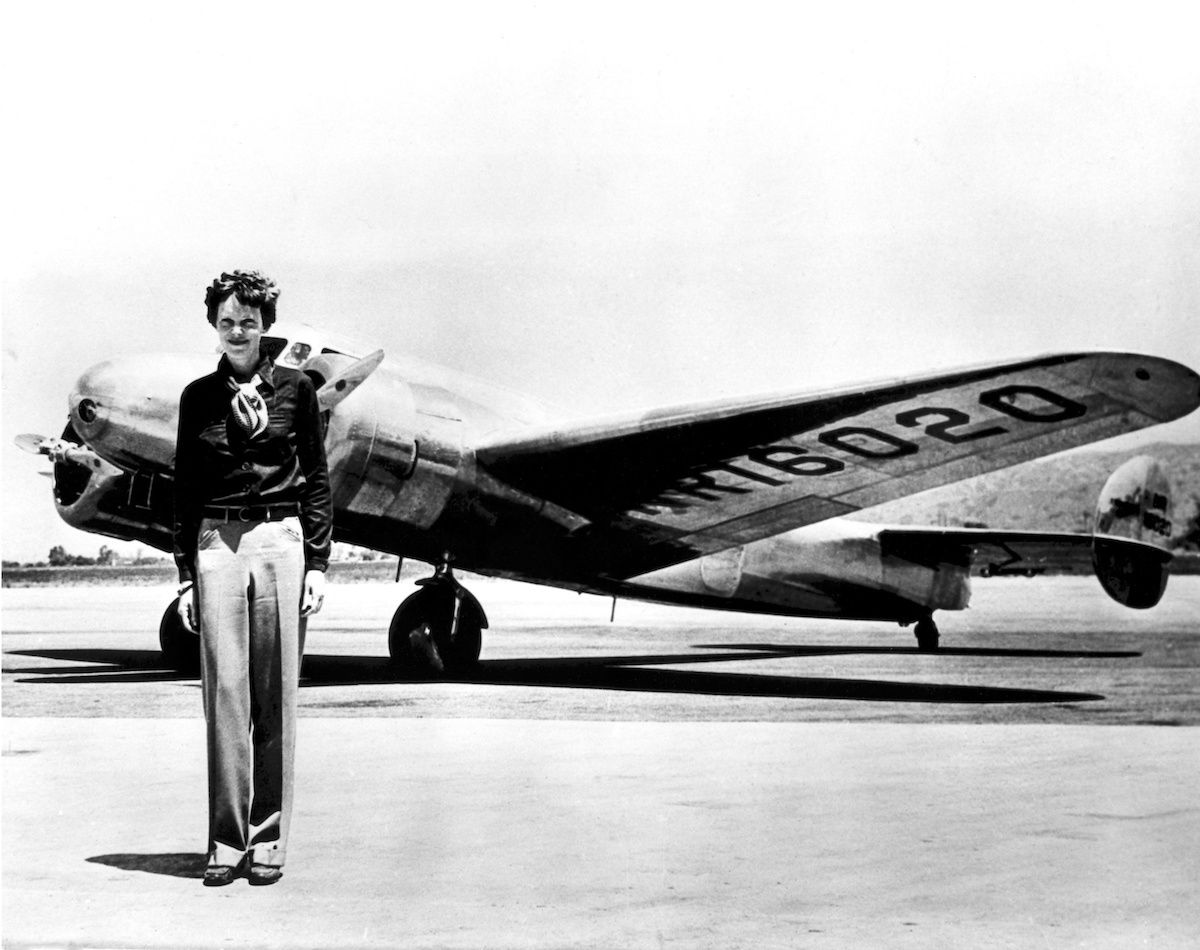 The Man Who Found the Titanic Is Hunting for Amelia Earhart's Plane