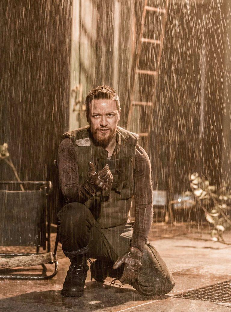 James McAvoy Macbeth photo