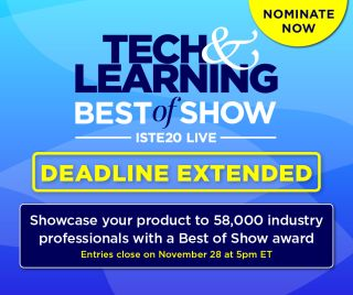 Best of ISTE Deadline Extended