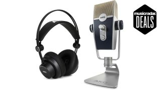 AKG Lyra USB Mic & K175 headphone deal