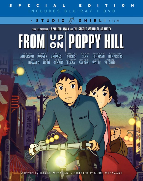 Giveaway Win Studio Ghibli S From Up On Poppy Hill On Blu Ray Cinemablend