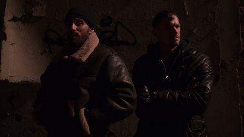 Matthias Schoenaerts and Joel Kinnaman in 'Brothers By Blood'.