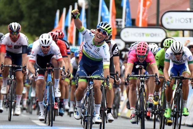 Caleb Ewan wins stage 1 of the 2016 Tour Down Under