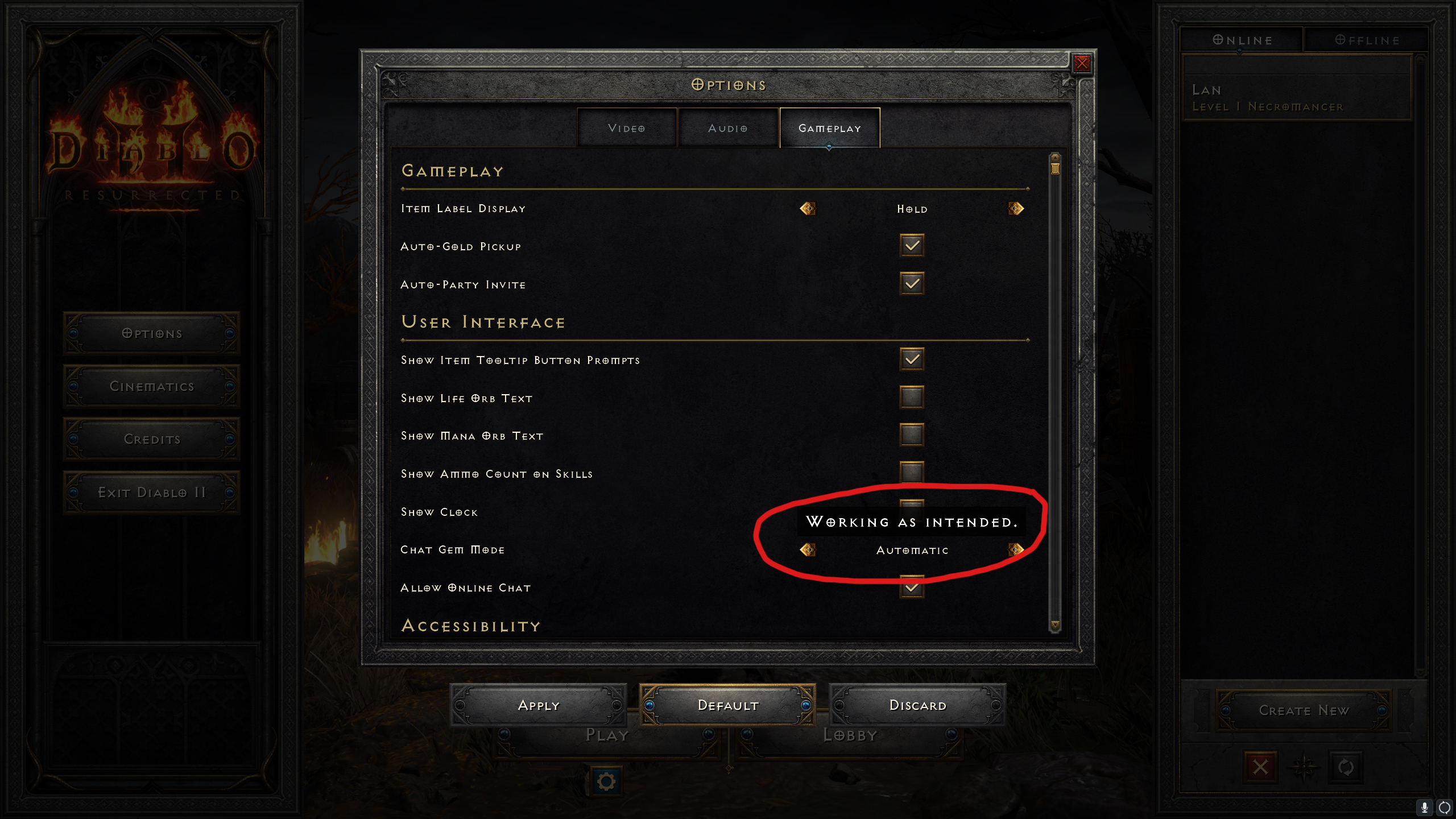 Diablo 2 gem activated