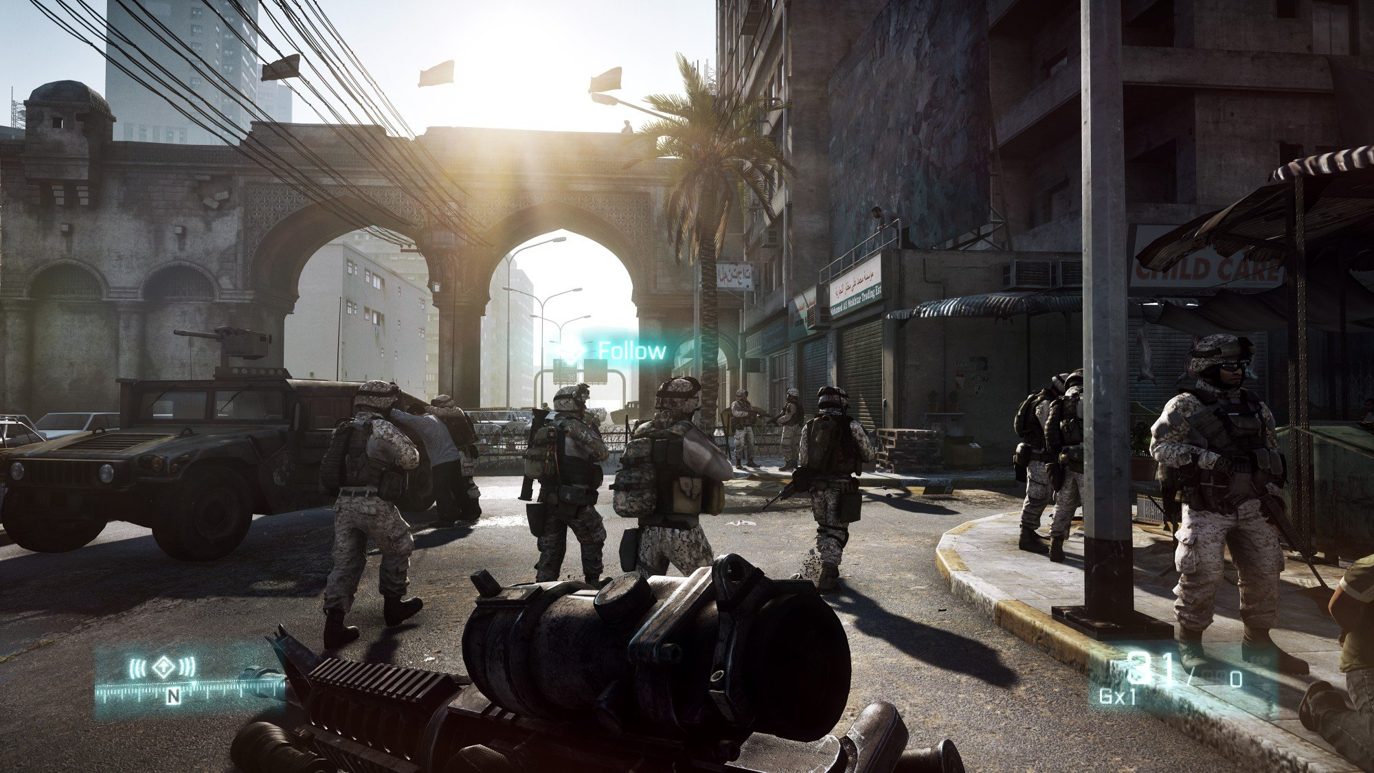 Battlefield 3 HD Concept Art And In-Game Screenshots Released #16619