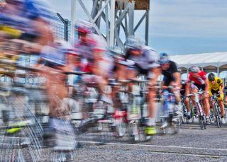 cyclists, high speeds
