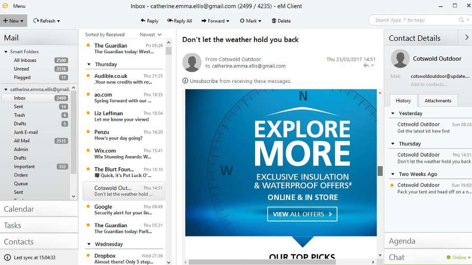 eM Client review and where to download review | TechRadar
