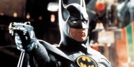 Bloody Batman Tease From The Flash Director Means Trouble For Michael Keaton