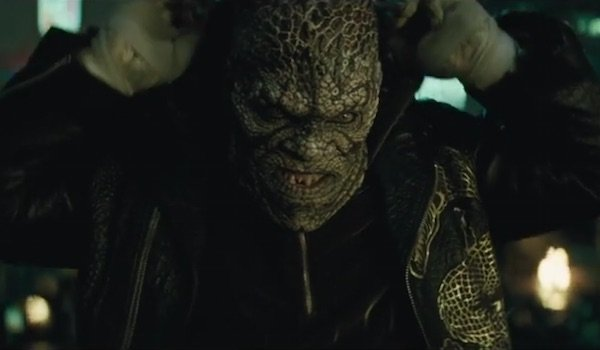Killer Croc's Been Living In The Sewers