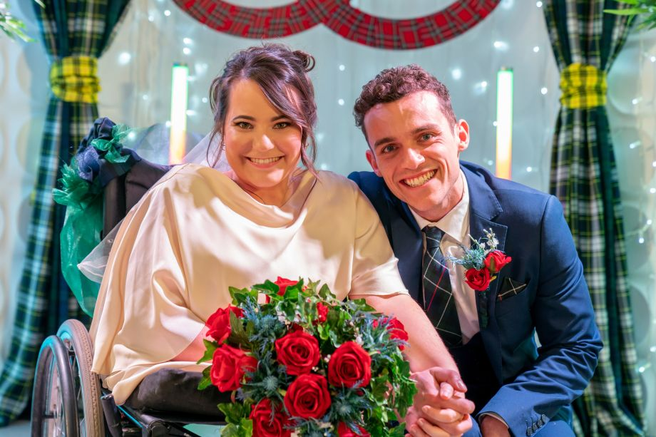 Jesse Donovan and Courtney Campbell get married