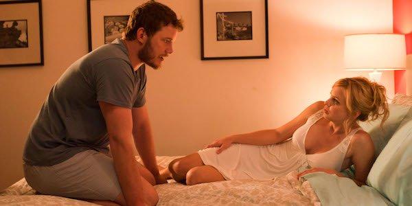 Chris Pratt Anna Faris Movie 43