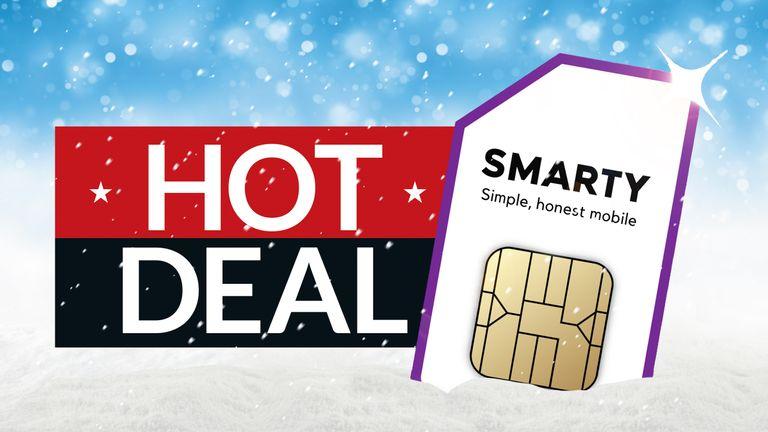 SIM sadece anlaşma Smarty Noel hediyeleri