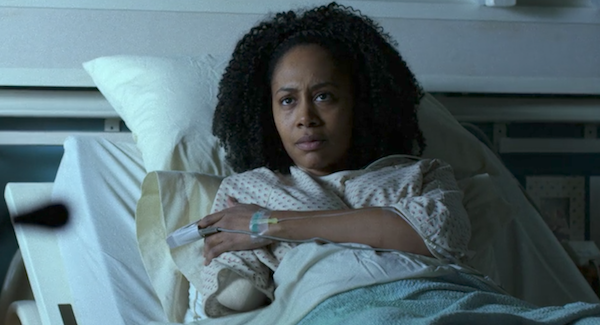 misty knight missing arm in hospital the defenders