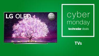 Cyber Monday TV deals header image