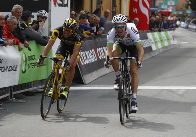 The sprint was close but Laurent Pichon (Fortuneo - Vital Concept) got it