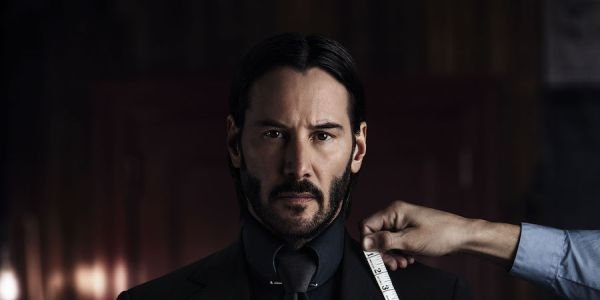 John Wick getting a suit made in John Wick Chapter 2