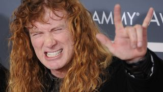 Megadeth frontman Dave Mustaine