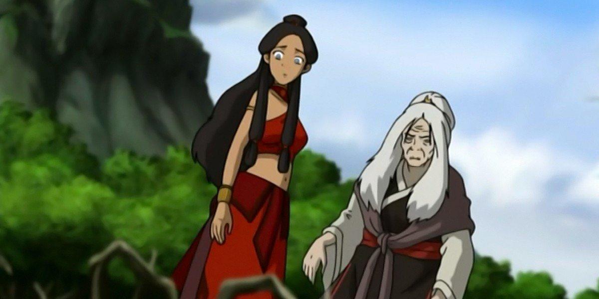 Katara and Hama