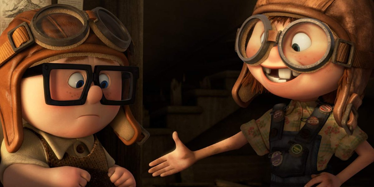 Carl and Ellie in Up
