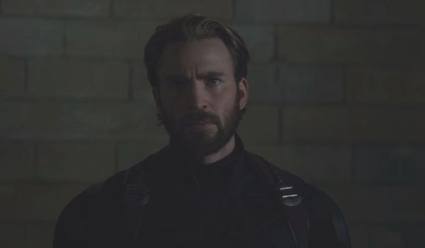 Captain America in Avengers: Infinity War