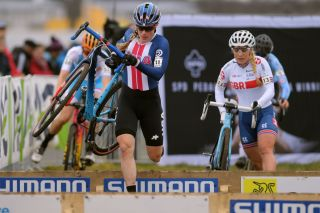 American cyclo-cross legend Katie Compton