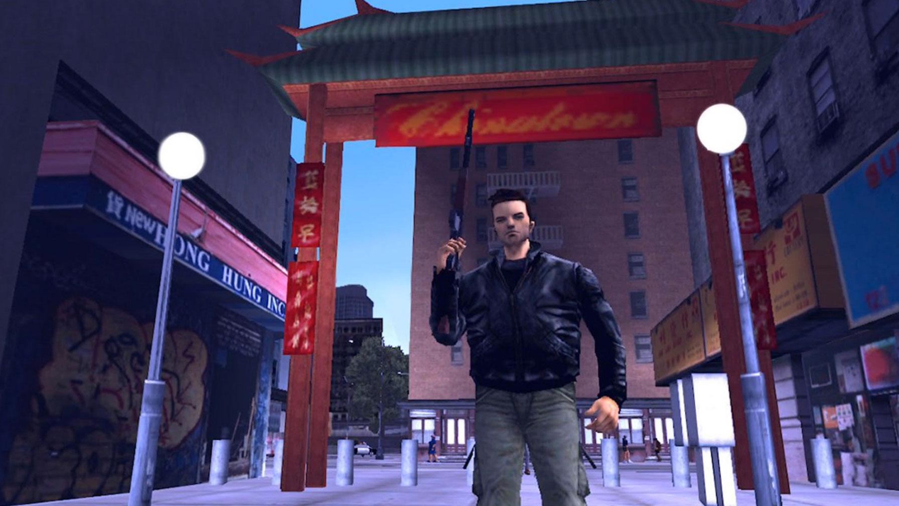 Claude Speed in GTA 3