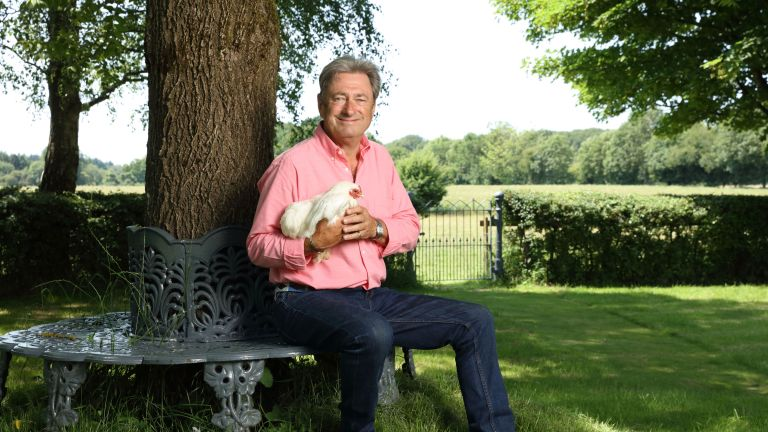 image of Alan Titchmarsh for new Love Your Weekend TV show