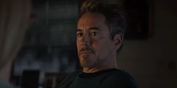Tony talking to Pepper in Endgame