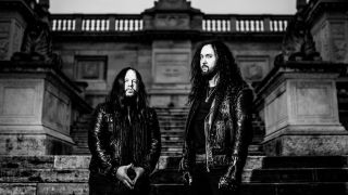 Joey Jordison and Frederic Leclercq